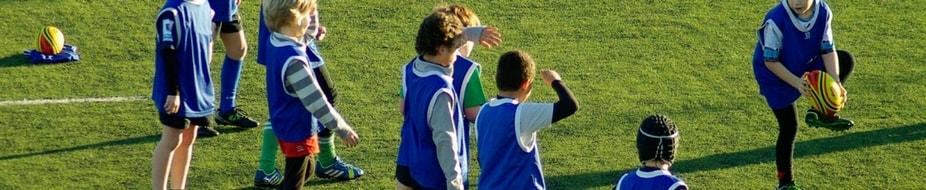 Balones de iniciación al rugby y entrenamiento