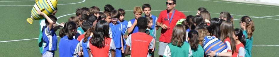 Aros para educación física