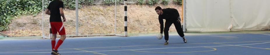 Material para entrenamiento de porteros de fútbol sala