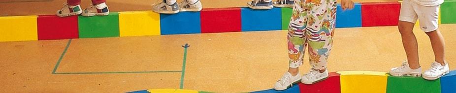 Camas y vallas para guarderías