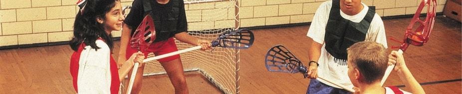 Material y equipamiento para lacrosse e intercrosse