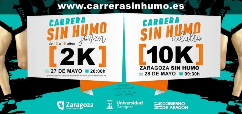 XII Edición de la Carrera sin Humo en Zaragoza
