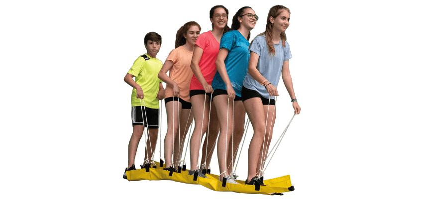 Esquís cooperativos