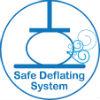 safe deflating system